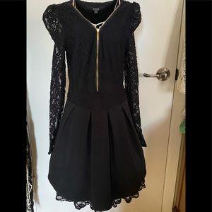 Stunning and stylish little black dress